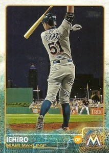2015 Topps Update Series Base Photo Variation Ichiro