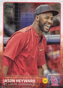 2015 Topps Update Series Base Photo Variation Jason Heyward