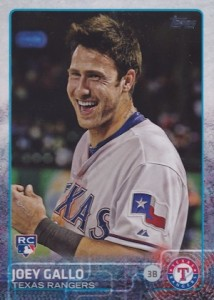 2015 Topps Update Series Base Photo Variation Joey Gallo