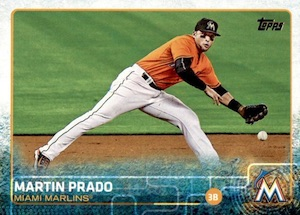 2015 Topps Update Series Base Prado