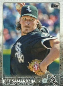 2015 Topps Update Series Base Samardzija