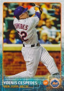 2015 Topps Update Series Base Yoenis Cespedes