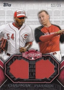 2015 Topps Update Series Baseball All-Star Stitches Dual
