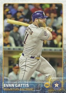 2015 Topps Update Series Baseball Base Evan Gattis