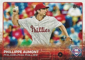 2015 Topps Update Series Baseball Base Phillippe Aumont