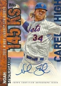 2015 Topps Update Series Baseball Career Highlights Autographs