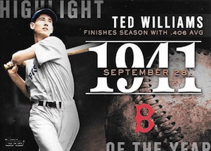 2015 Topps Update Series Baseball Highlight of the Year