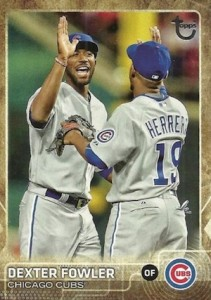 2015 Topps Update Series Baseball Retro Throwback Variation Fowler