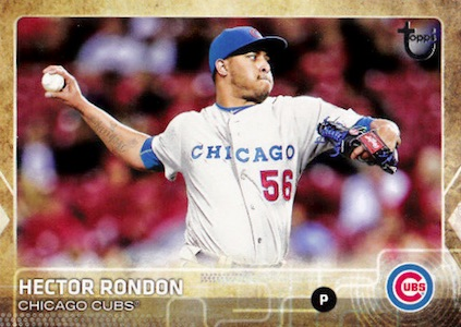 2015 Topps Update Series Baseball Retro Throwback Variation Hector Rondon