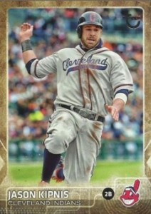 2015 Topps Update Series Baseball Retro Throwback Variation Jason Kipnis
