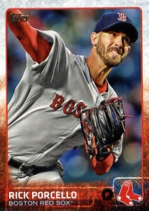 2015 Topps Update Series Baseball Rick Porcello