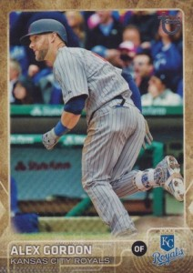 2015 Topps Update Series Baseball Throwback Variation Alex Gordon