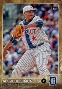 2015 Topps Update Series Baseball Throwback Variation Alfredo Simon