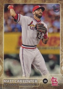 2015 Topps Update Series Baseball Throwback Variation Matt Carpenter