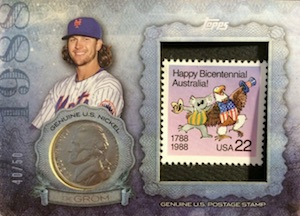 2015 Topps Update Series Birth Year Coin Stamp