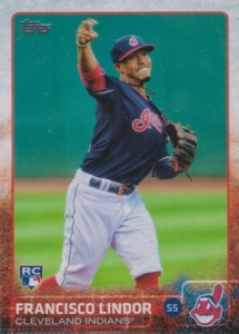 2015 Topps Update Series Francisco Lindor RC