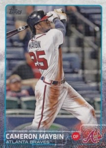 2015 Topps Update Series Hidden Gems Sparkle Variations Cameron Maybin