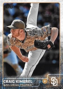 2015 Topps Update Series Hidden Gems Sparkle Variations Craig Kimbrel