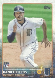 2015 Topps Update Series Hidden Gems Sparkle Variations Daniel Fields