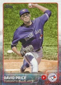 2015 Topps Update Series Hidden Gems Sparkle Variations David Price