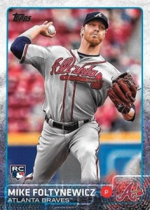 2015 Topps Update Series Hidden Gems Sparkle Variations Foltynewicz