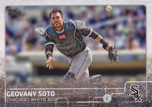 2015 Topps Update Series Hidden Gems Sparkle Variations Geovany Soto