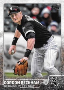 2015 Topps Update Series Hidden Gems Sparkle Variations Gordon Beckham