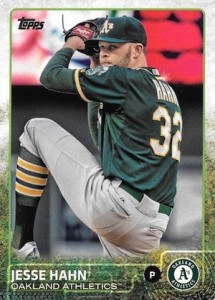 2015 Topps Update Series Hidden Gems Sparkle Variations Jesse Hahn