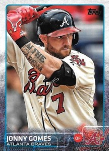 2015 Topps Update Series Hidden Gems Sparkle Variations Jonny Gomes