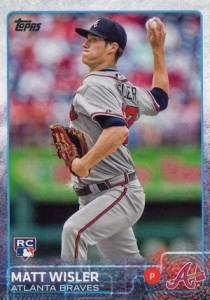 2015 Topps Update Series Hidden Gems Sparkle Variations Matt Wisler