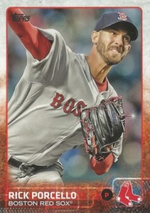 2015 Topps Update Series Hidden Gems Sparkle Variations Rick Porcello