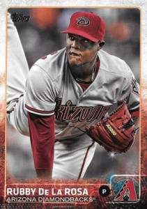 2015 Topps Update Series Hidden Gems Sparkle Variations Rubby De La Rossa