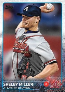 2015 Topps Update Series Hidden Gems Sparkle Variations Shelby Miller