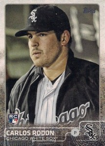 2015 Topps Update Series Photo Variation Carlos Rodon