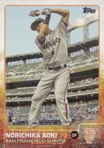 2015 Topps Update Series Photo Variations Aoki