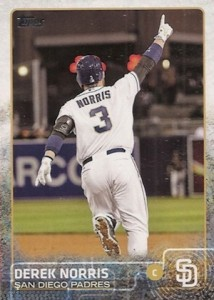 2015 Topps Update Series Photo Variations Derek Norris