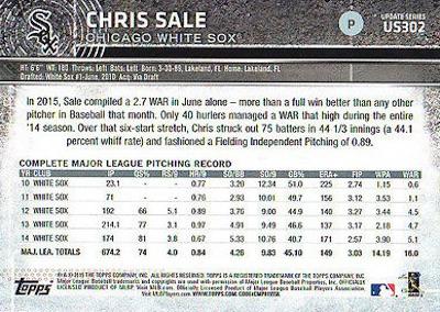 2015 Topps Update Series Baseball Variations Short Print Guide 202