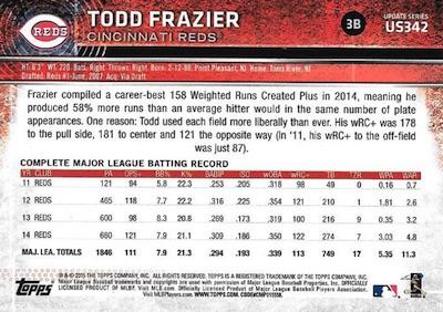 2015 Topps Update Series Baseball Variations Short Print Guide 205