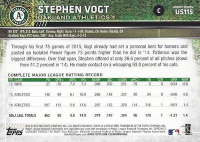 2015 Topps Update Series Baseball Variations Short Print Guide 180