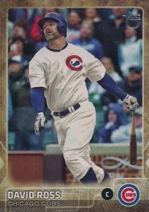 2015 Topps Update Series Throwback Variations David Ross
