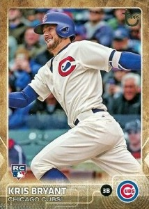 2015 Topps Update Series Throwback Variations Kris Bryant