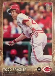 2015 Topps Update Series Throwback Variations Todd Frazier