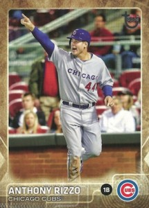 2015 Topps Update Throwback Variation Anthony Rizzo