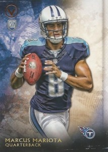 2015 Topps Valor Base RC Mariota