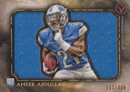 2015 Topps Valor Football Cards - Review Added 25