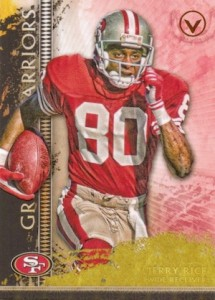 2015 Topps Valor Gridiron Warriors Jerry Rice