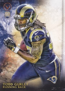 2015 Topps Valor Todd Gurley RC #181