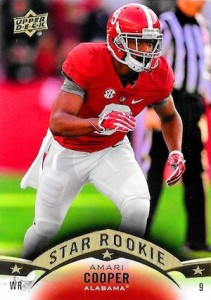 Amari Cooper Rookie Card Gallery and Checklist 53