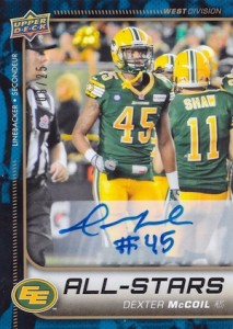 2015 Upper Deck CFL Football Cards 23
