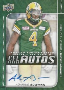 2015 Upper Deck CFL Football Cards 25